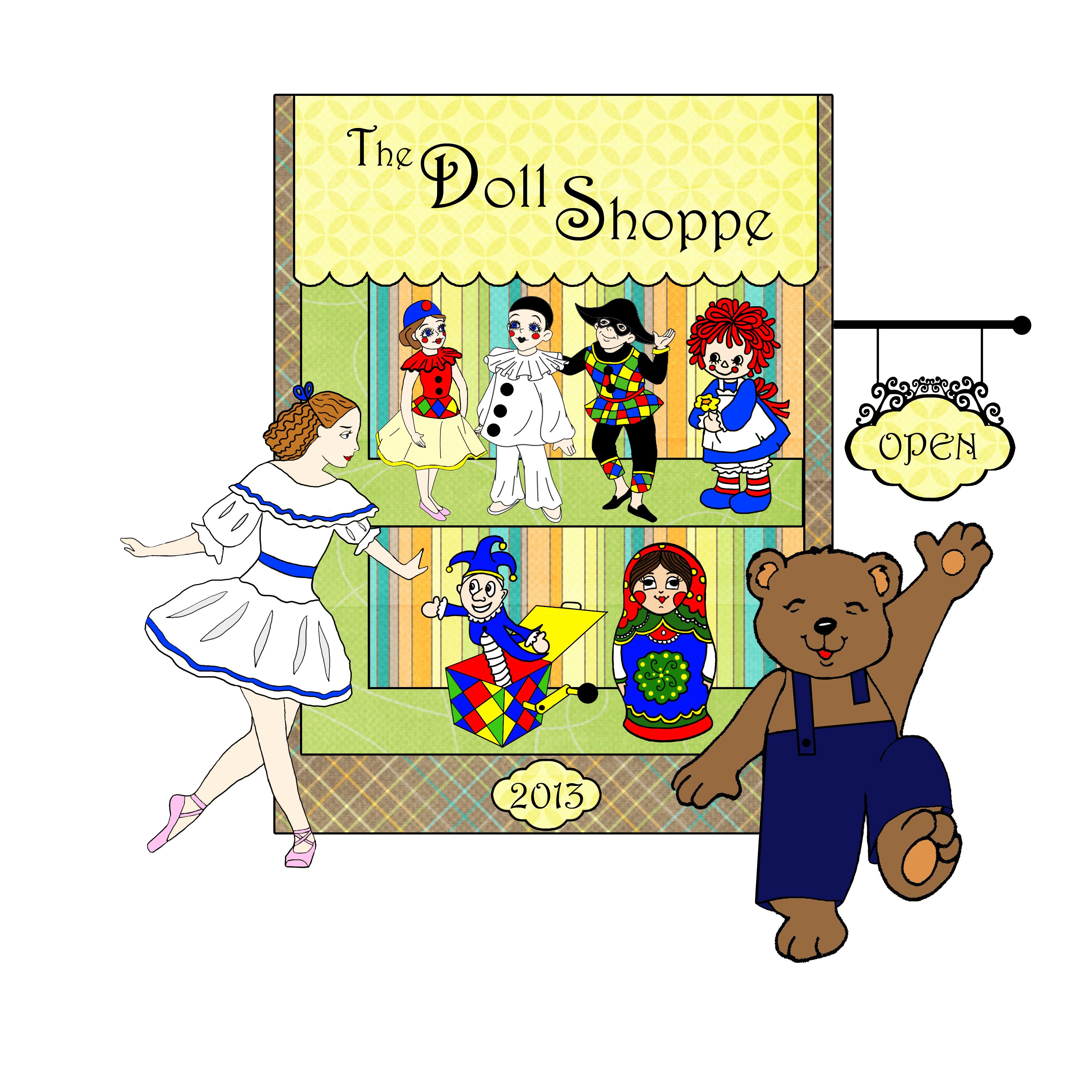 Doll Shoppe poster art