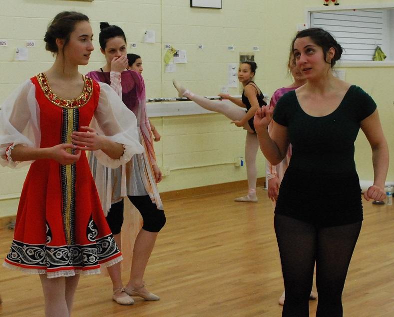 Baba Yaga Rehearsal, March 2016